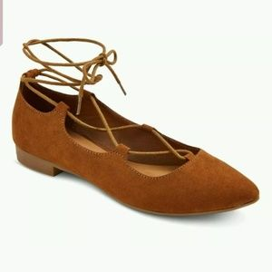 MOSSIMO TIE UP FLATS